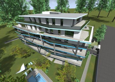 Mistral Residence, Balatonföldvár, látványterv, új építésű lakások, luxuslakás